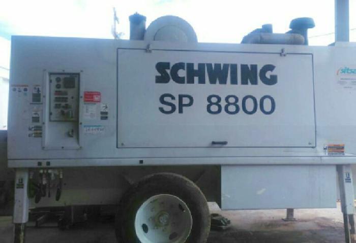 Bomba Estacionaria Schwing