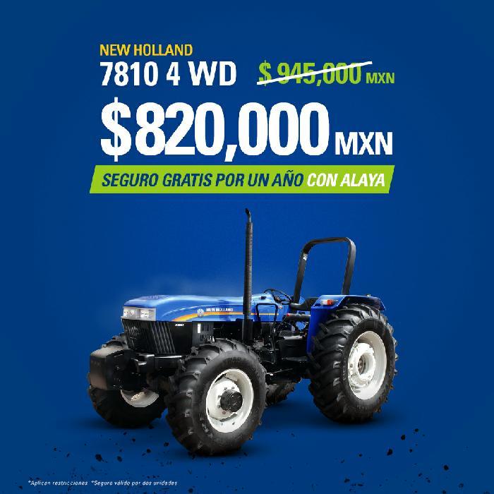 Precio especial en tractor